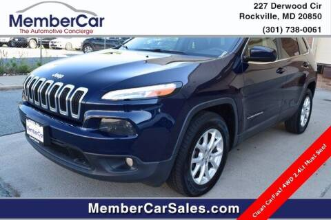 2015 Jeep Cherokee for sale at MemberCar in Rockville MD