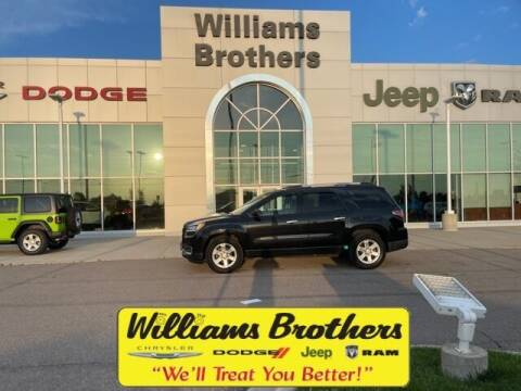 2014 GMC Acadia for sale at Williams Brothers - Pre-Owned Monroe in Monroe MI