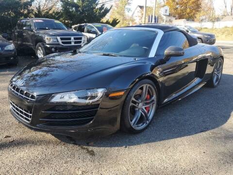 2011 Audi R8 for sale at CENTRAL GROUP in Raritan NJ