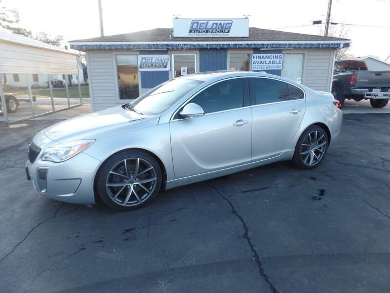 2015 Buick Regal for sale at DeLong Auto Group in Tipton IN