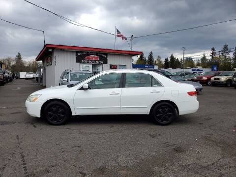 2004 Honda Accord for sale at Ron's Auto Sales in Hillsboro OR