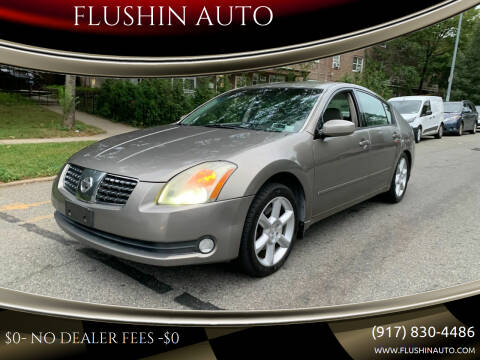 2006 Nissan Maxima for sale at FLUSHIN AUTO in Flushing NY