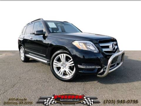 2015 Mercedes-Benz GLK for sale at PRIME MOTORS LLC in Arlington VA