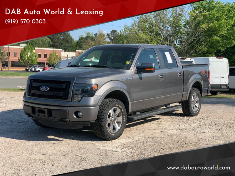 2013 Ford F-150 for sale at DAB Auto World & Leasing in Wake Forest NC