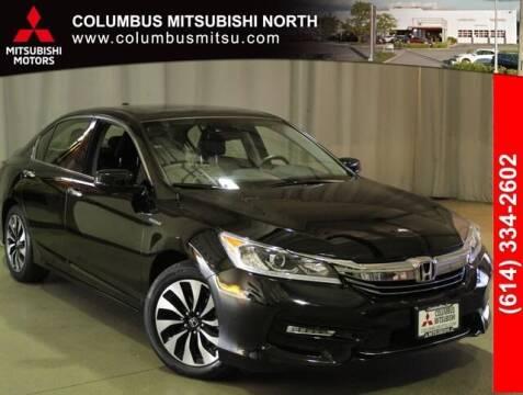 2017 Honda Accord Hybrid for sale at Auto Center of Columbus - Columbus Mitsubishi North in Columbus OH