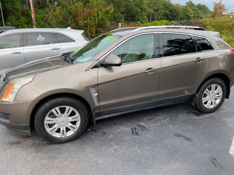 2012 Cadillac SRX for sale at TOP OF THE LINE AUTO SALES in Fayetteville NC
