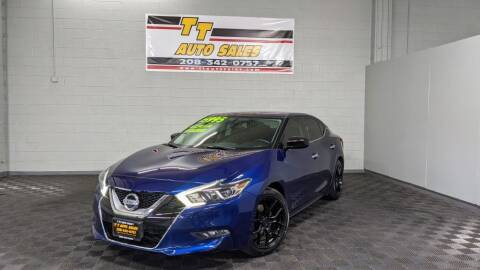 2016 Nissan Maxima for sale at TT Auto Sales LLC. in Boise ID