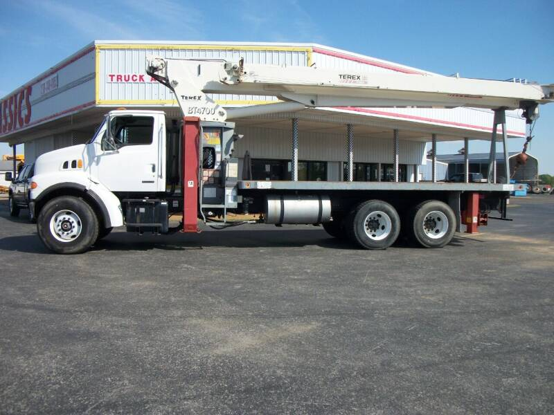 2003 Sterling LT7500 Flatbed Crane for sale at Classics Truck and Equipment Sales in Cadiz KY