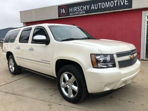2012 Chevrolet Suburban for sale at Hirschy Automotive in Fort Wayne IN