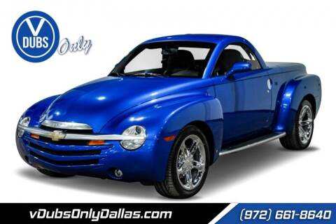 2006 Chevrolet SSR for sale at VDUBS ONLY in Dallas TX