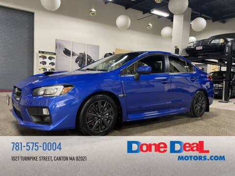 2015 Subaru WRX for sale at DONE DEAL MOTORS in Canton MA