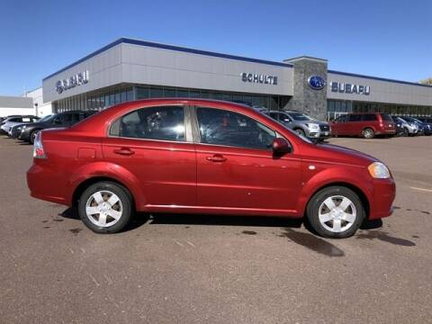2008 Chevrolet Aveo for sale at Schulte Subaru in Sioux Falls SD