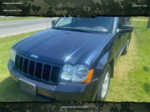 2010 Jeep Grand Cherokee for sale at Carpro Auto Sales in Chesapeake VA