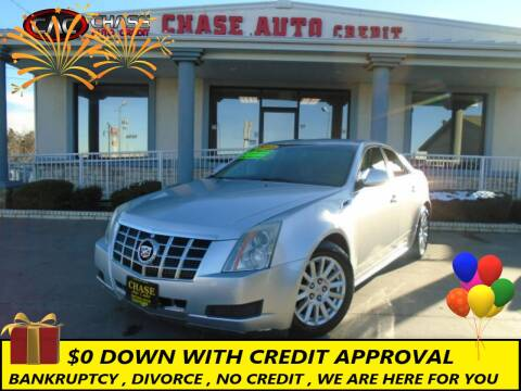 2013 Cadillac CTS for sale at Chase Auto Credit in Oklahoma City OK