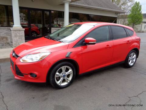 2013 Ford Focus for sale at DEALS UNLIMITED INC in Portage MI