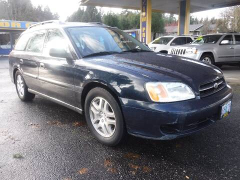 2002 Subaru Legacy for sale at Brooks Motor Company, Inc in Milwaukie OR