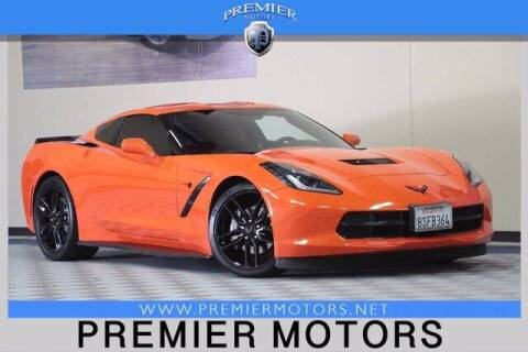 2019 Chevrolet Corvette for sale at Premier Motors in Hayward CA