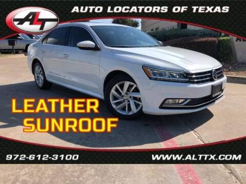 2018 Volkswagen Passat for sale at AUTO LOCATORS OF TEXAS in Plano TX