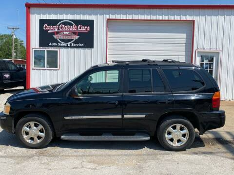 2002 GMC Envoy for sale at Casey Classic Cars in Casey IL