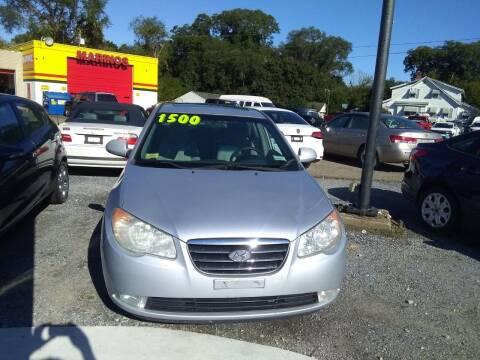 2007 Hyundai Elantra for sale at Marino's Auto Sales in Laurel DE