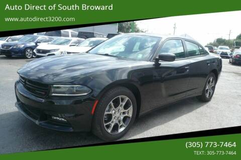 2016 Dodge Charger for sale at Auto Direct of South Broward in Miramar FL