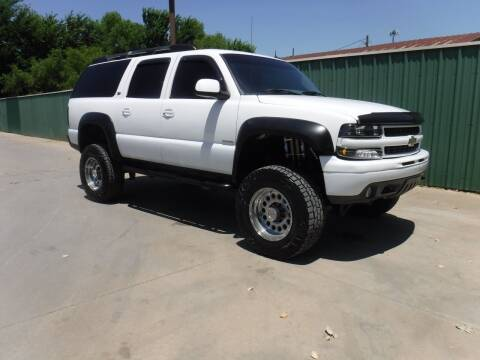 2003 Chevrolet Suburban for sale at Triple C Auto Sales in Gainesville TX