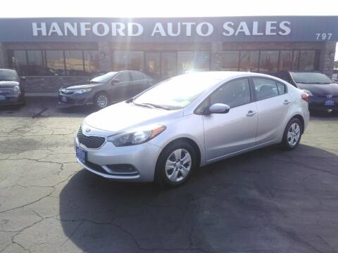 2015 Kia Forte for sale at Hanford Auto Sales in Hanford CA