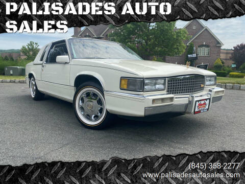1989 Cadillac DeVille for sale at PALISADES AUTO SALES in Nyack NY