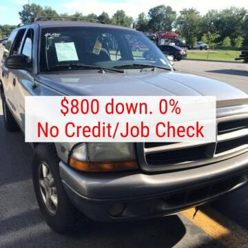 2000 Dodge Durango for sale at D & J AUTO EXCHANGE in Columbus IN