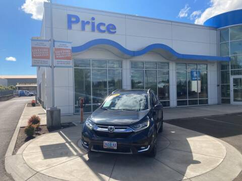 2018 Honda CR-V for sale at Price Honda in McMinnville in Mcminnville OR