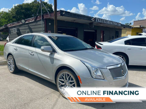 2017 Cadillac XTS for sale at Texas Luxury Auto in Houston TX
