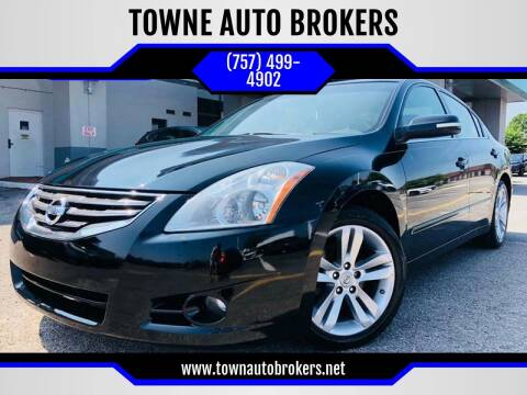 2010 Nissan Altima for sale at TOWNE AUTO BROKERS in Virginia Beach VA