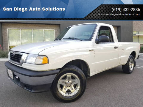 1999 Mazda B-Series Pickup for sale at San Diego Auto Solutions in Escondido CA