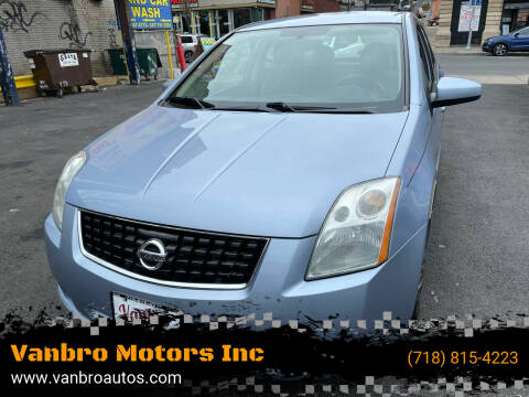 2009 Nissan Sentra for sale at Vanbro Motors Inc in Staten Island NY