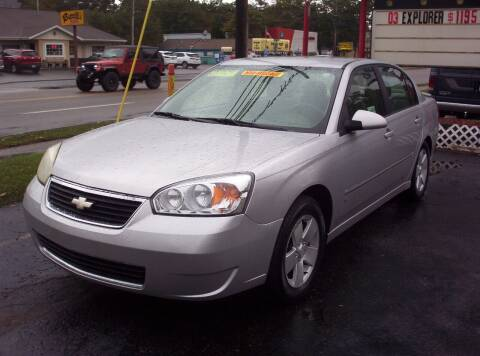 2006 Chevrolet Malibu for sale at LAKESIDE MOTORS LLC in Houghton Lake MI