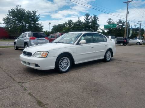2004 Subaru Legacy for sale at Wolfe Brothers Auto in Marietta OH