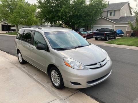 2008 Toyota Sienna for sale at QUEST MOTORS in Englewood CO