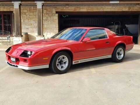 1984 Chevrolet Camaro for sale at Tyler Car  & Truck Center in Tyler TX