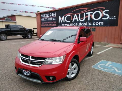 2012 Dodge Journey for sale at MC Autos LLC in Pharr TX