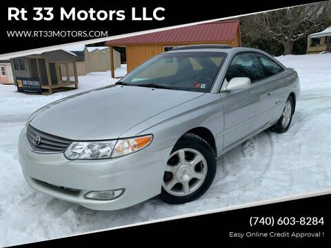 2002 Toyota Camry Solara for sale at Rt 33 Motors LLC in Rockbridge OH