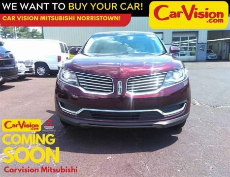 2018 Lincoln MKX for sale at Car Vision Mitsubishi Norristown in Norristown PA
