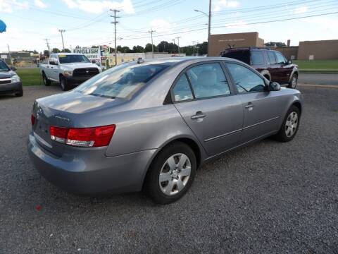 2008 Hyundai Sonata for sale at English Autos in Grove City PA