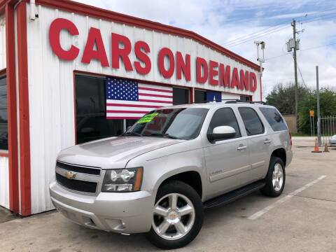 2008 Chevrolet Tahoe for sale at Cars On Demand 2 in Pasadena TX