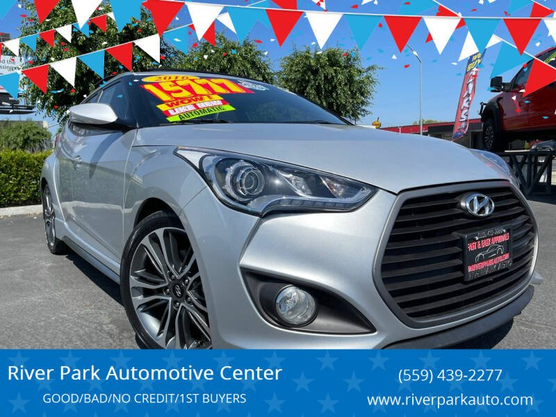 2016 Hyundai Veloster for sale at River Park Automotive Center in Fresno CA