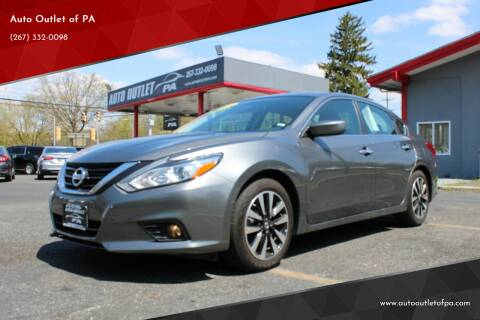 2018 Nissan Altima for sale at Deals N Wheels 306 in Burlington NJ