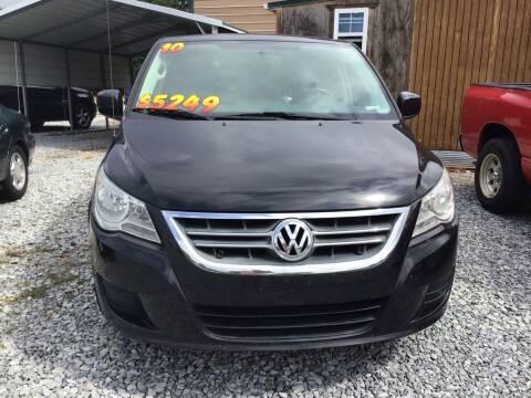 2010 Volkswagen Routan for sale at K & E Auto Sales in Ardmore AL