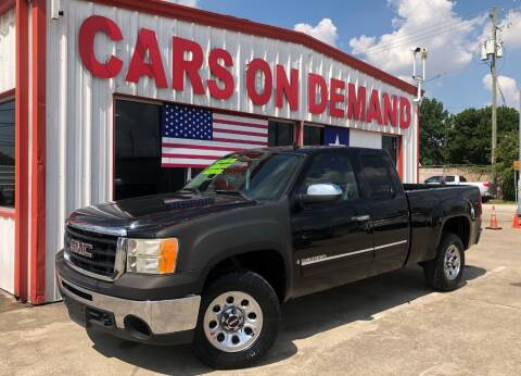 2009 GMC Sierra 1500 for sale at Cars On Demand 2 in Pasadena TX