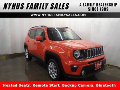 2019 Jeep Renegade for sale at Nyhus Family Sales in Perham MN