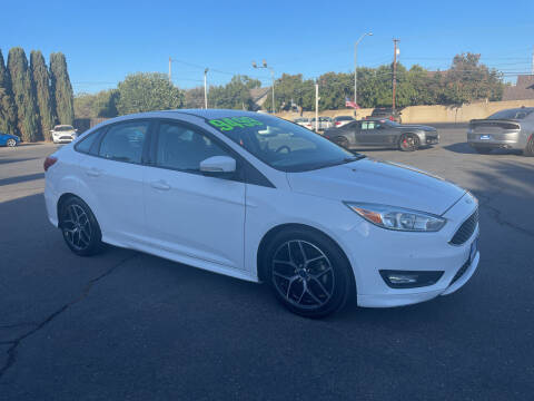 2015 Ford Focus for sale at Blue Diamond Auto Sales in Ceres CA