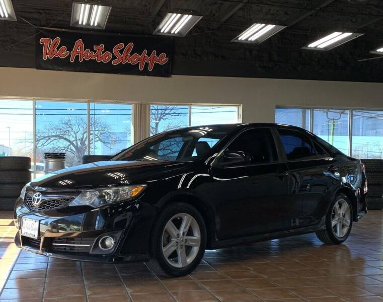 2012 Toyota Camry for sale at The Auto Shoppe in Springfield MO